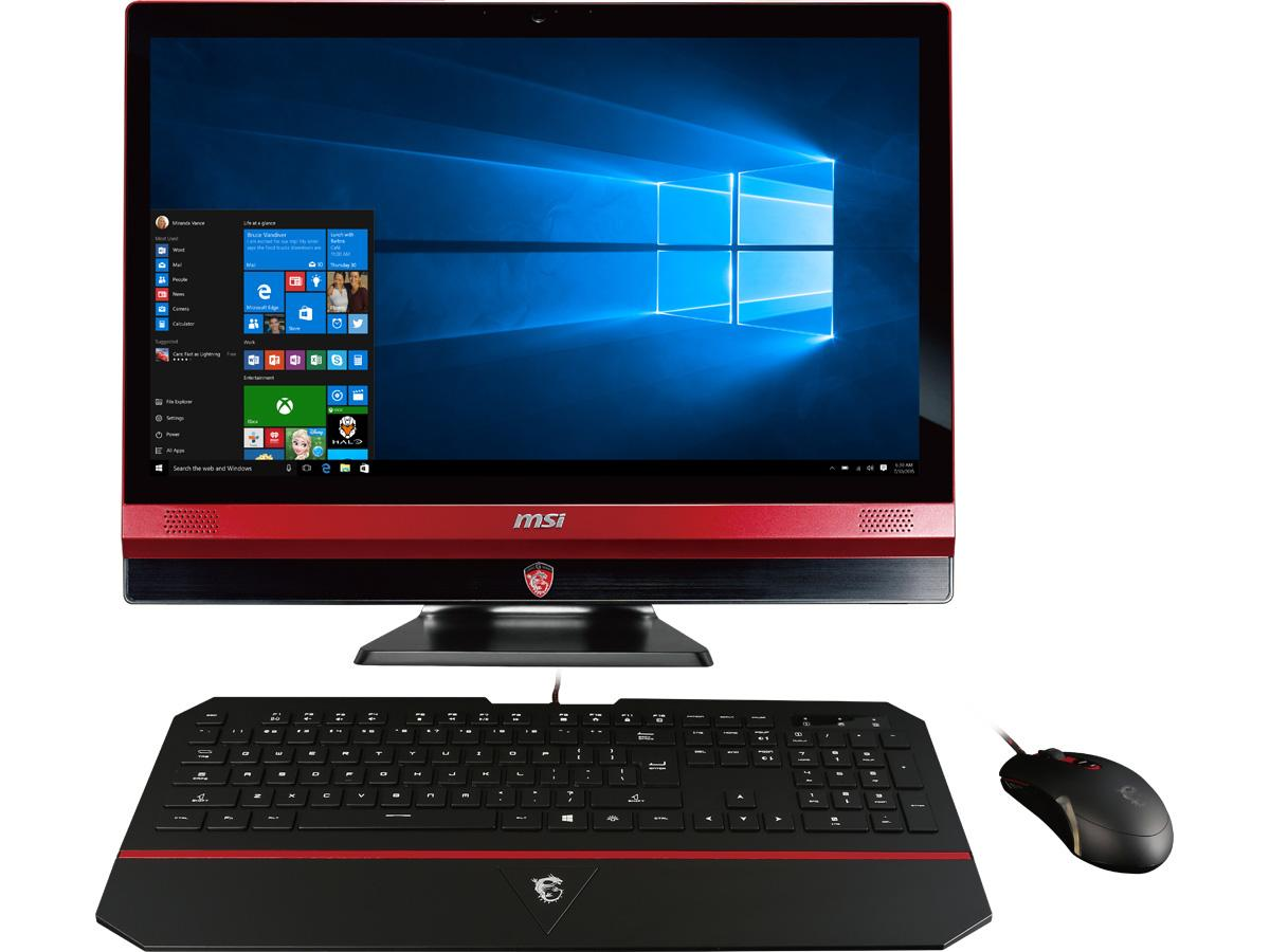 MSI Gaming 24 6QE-022US All in One