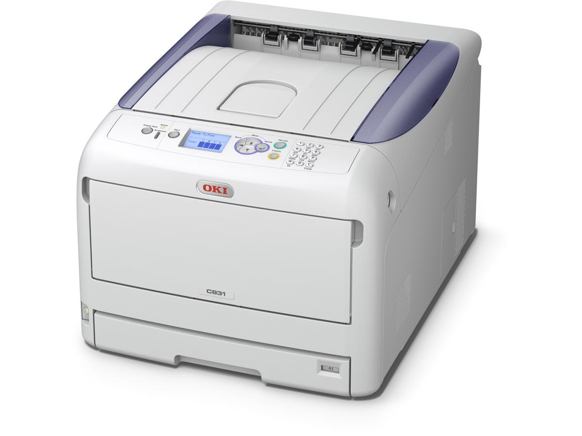 OKI PRINTER SML WKGRP COL C831N 35PPM