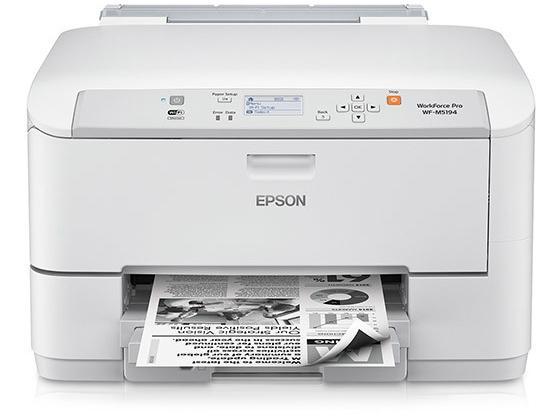 Epson WorkForce Pro WF-M5194 Inkjet Printer - Monochrome - 1200 x 2400 dpi Print - 330 Sheets Input - Wireless LAN