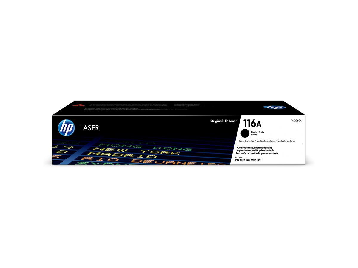 HP 116A Black Original Laser Toner Cartridge (W2060A)