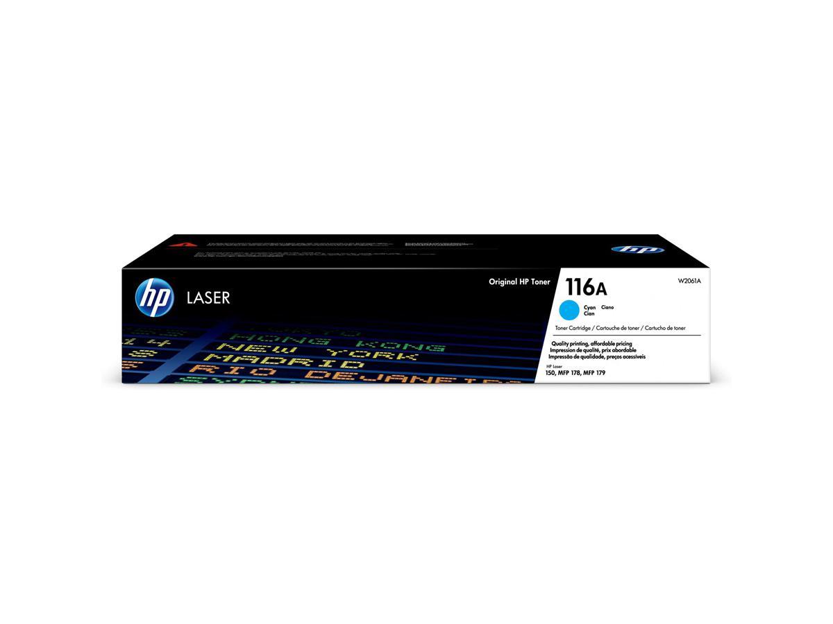 HP 116A Cyan Original Laser Toner Cartridge (W2061A)