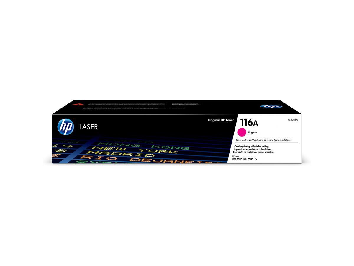 HP 116A Magenta Original Laser Toner Cartridge (W2063A)